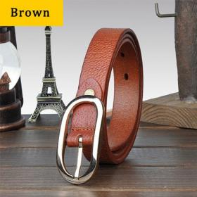 All match genuine leather belt for women