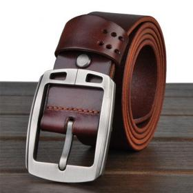 High quality genuine leather belt for man